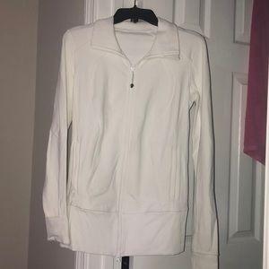White Lululemon jacket